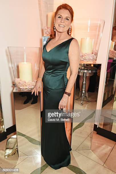 Sarah Ferguson Duchess of York attends The Lady Garden Gala hosted by Chopard in aid of Silent No More Gynaecological Cancer Fund and Cancer Research...
