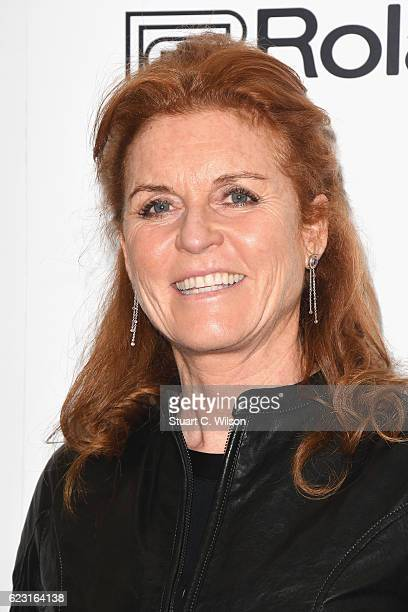 Sarah Ferguson Duchess of York attends the opening night of 'School Of Rock The Musical' at the New London Theatre Drury Lane on November 14 2016 in...