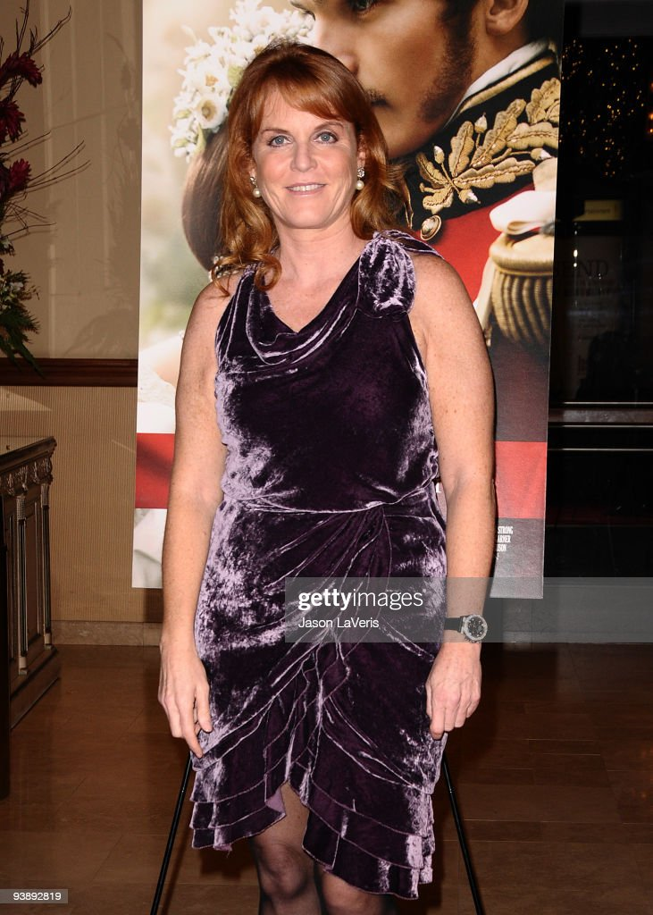 Sarah Ferguson, Duchess of York attends the premiere of 'The Young Victoria' at Pacific Theatre at The Grove on December 3, 2009 in Los Angeles, California.