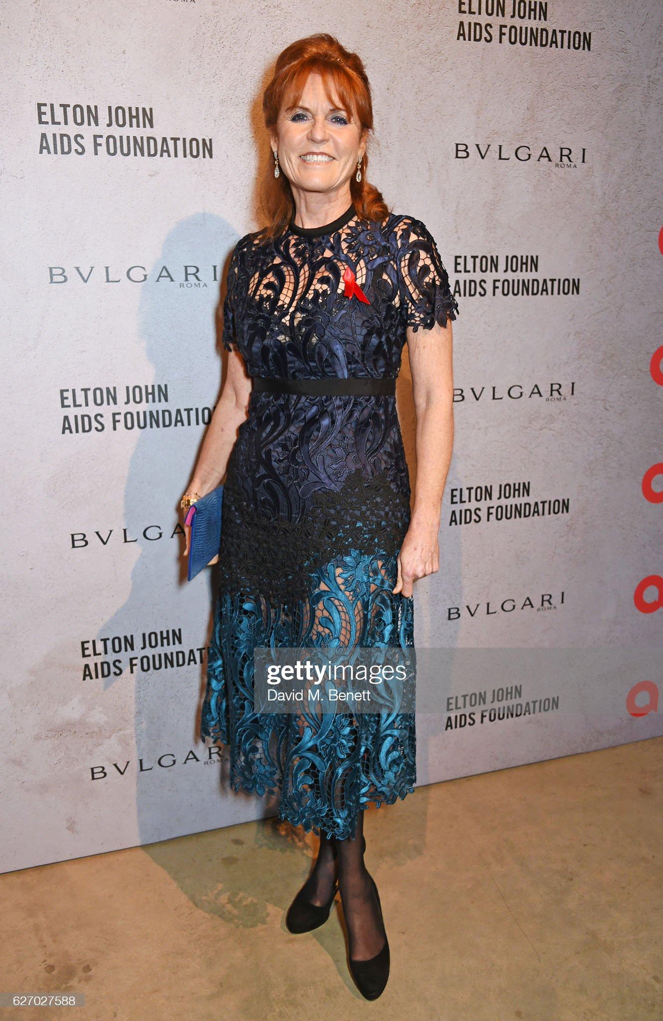 """""""The Radical Eye"""" Dinner For The Elton John Aids Foundation : News Photo"""