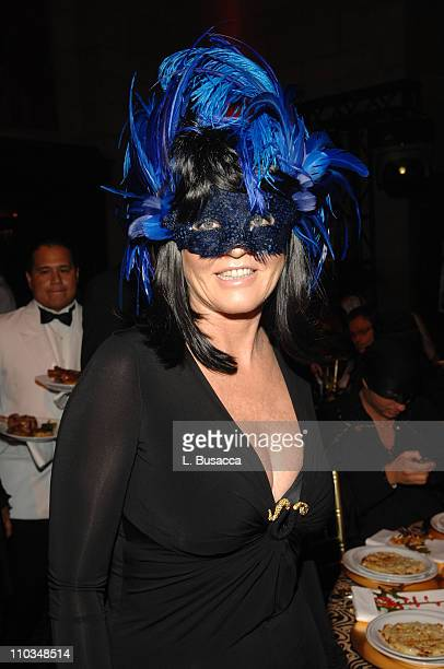 Sarah Ferguson Duchess of York attends the Roberto Cavalli Vodka and Giuseppe Cipriani Halloween Party at Cipriani's 42nd Street on October 31 2007...