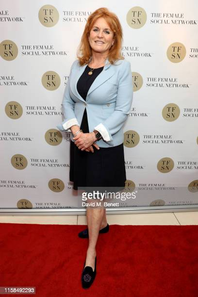 Sarah Ferguson, Duchess of York attends the UK launch of The Female Social Network at The Ivy on June 26, 2019 in London, England.