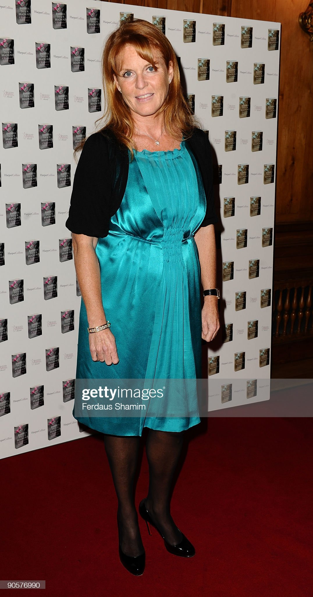 Вечерние наряды Отем пока еще Филлипс и Сары Йоркской A Woman Of Substance Awards : News Photo