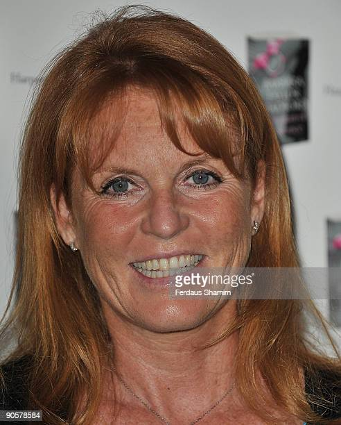Sarah Ferguson Duchess of York attends Woman Of Substance Awards at Dorchester Hotel on September 10 2009 in London England
