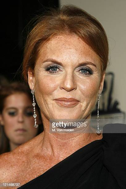 Sarah Ferguson Duchess of York during Cipriani Concert Series Lionel Richie at Cipriani Wall Street in New York NY United States