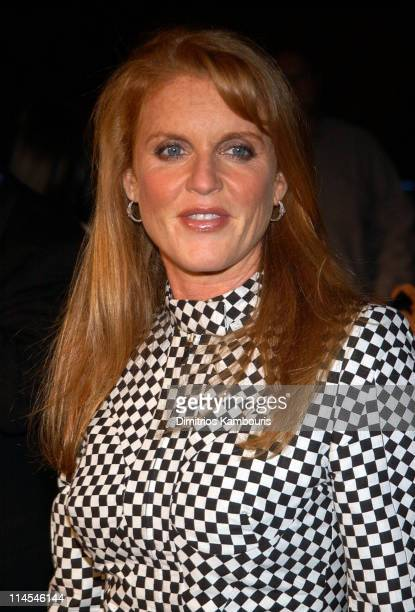 Sarah Ferguson Duchess of York during Dave Matthews Band In Central Park The AOL Concert For Schools Red Carpet at The Great Lawn Central Park in New...