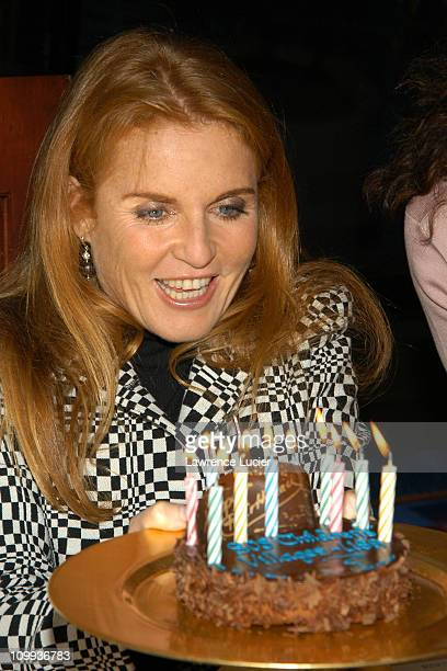 Sarah Ferguson Duchess of York during Sarah Ferguson Appears At SOS Children's Villages 10th Anniversary Celebration at Marriot Marquis in New York...