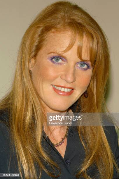 Sarah Ferguson, Duchess of York during Sarah Ferguson Promotes Her New Book Little Red at Barnes and Noble in New York, NY, United States.