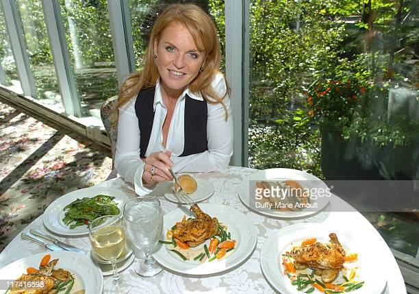 Sarah Ferguson, Duchess of York during Weight Watchers Inspiring Stories Luncheon with Sarah Ferguson, Duchess of York - New York City at Tavern on...