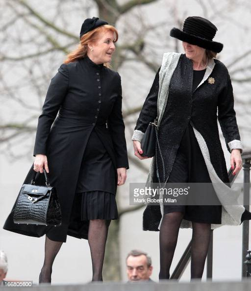 Sarah Ferguson, Duchess Of York Seen Attending Baroness