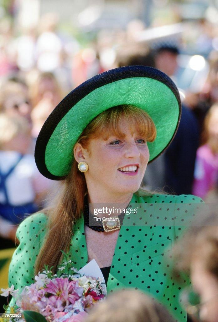 Sarah Ferguson, Duchess of York visits Australia on an offic : News Photo