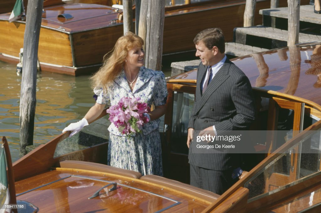 Duke And Duchess Of York : News Photo