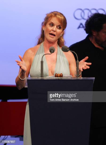Sarah Ferguson during amfAR's Cinema Against AIDS Benefit in Cannes, Presented by Bold Films, Palisades Pictures and The Weinstein Company - Show at...