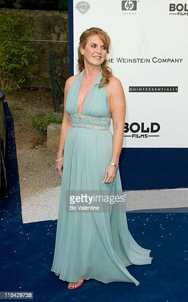Sarah Ferguson during amfAR's Cinema Against AIDS Benefit in Cannes Presented by Bold Films Palisades Pictures and The Weinstein Company Arrivals at...