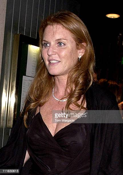 Sarah Ferguson during Celebrity Sightings at The Ivy June 9 2006 at Ivy in London Great Britain