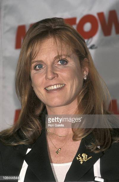 Sarah Ferguson during Launch of New Cookbook 'Dining With the Duchess' at Motown Cafe in New York City New York United States