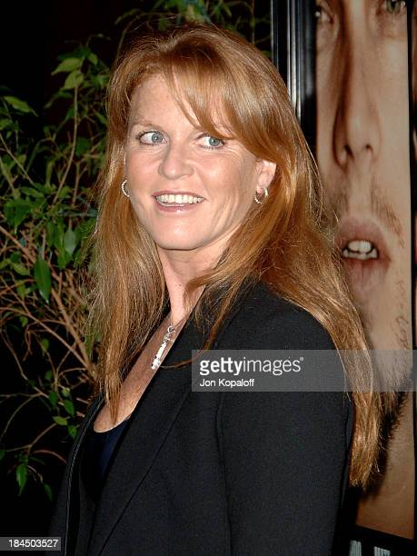 Sarah Ferguson during 'The Departed' Los Angeles Screening at The Director's Guild of America in West Hollywood California United States