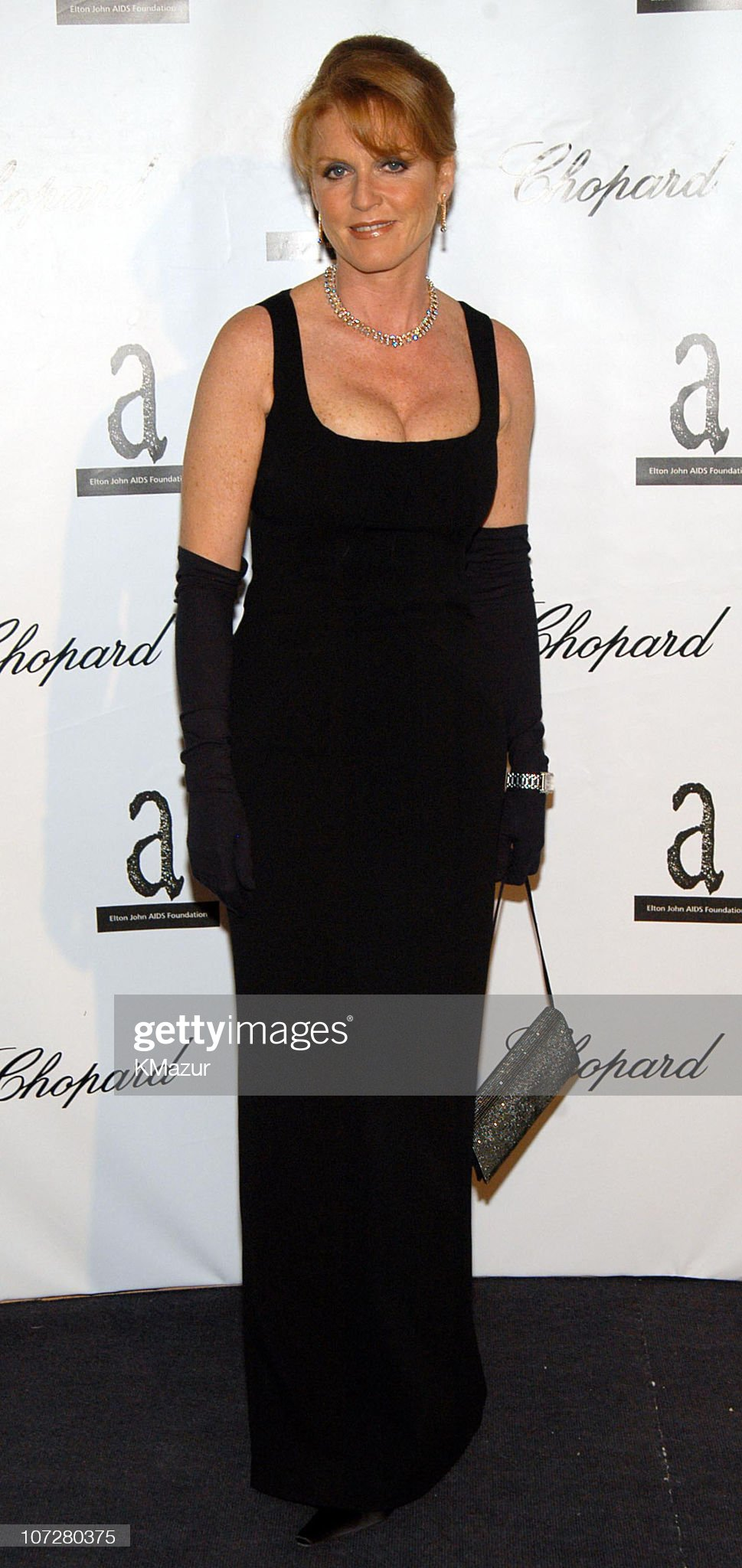 The Fifth Annual White Tie & Tiara Ball to Benefit the Elton John Aids Foundation in Association with Chopard - Arrivals : News Photo