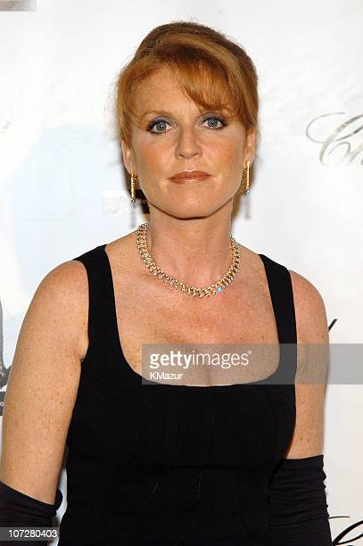 Sarah Ferguson during The Fifth Annual White Tie Tiara Ball to Benefit the Elton John Aids Foundation in Association with Chopard Arrivals in Windsor...