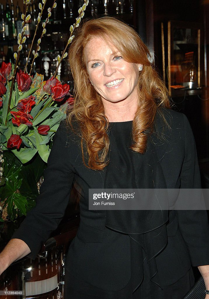 Sarah Ferguson during 'The White Countess' London Premiere - After Party at Dorchester Hotel in London, Great Britain.