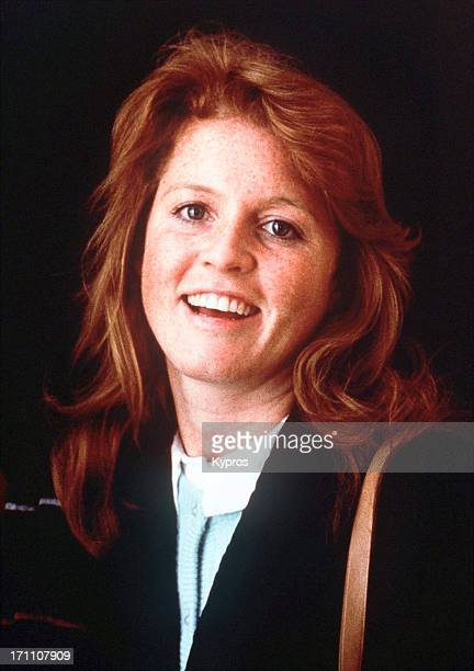 Sarah Ferguson later the Duchess of York circa 1986