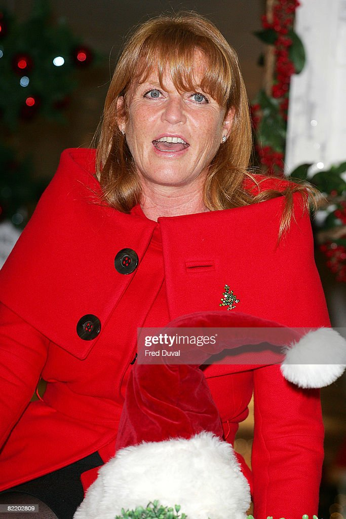 Selfridges\' Christmas Shop and Toy Shop Opened By Sarah Ferguson ...