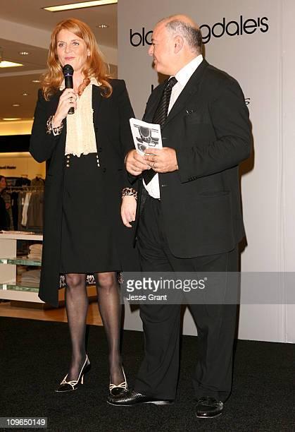 Sarah Ferguson the Duchess of York and Neil Koppel