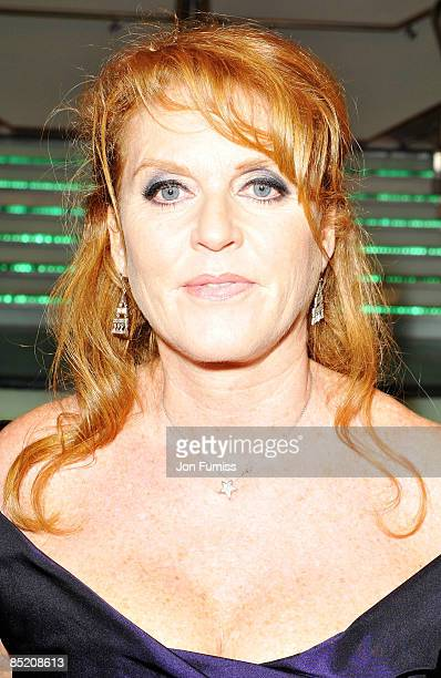 Sarah Ferguson, the Duchess of York arrives for 'The Young Victoria' World Premiere held at the Odeon, Leicester Square on March 3, 2009 in London,...
