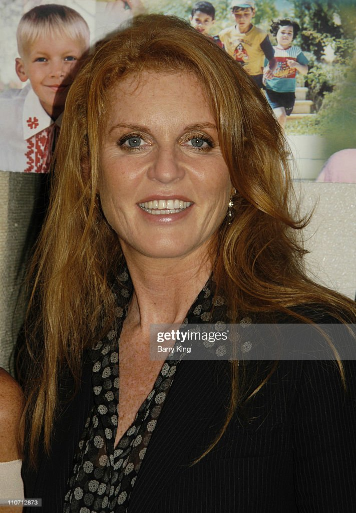 Sarah Ferguson, The Duchess of York, Hosts Reception for SOS Children's Villages USA