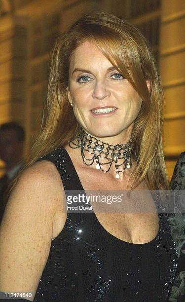 Sarah Ferguson The Duchess of York during Tommy's Building Block Charity Dinner at Bloomberg LP in London United Kingdom