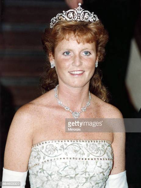 Sarah Ferguson the Duchess of York pictured on the Royal visit to Canada 31st July 1989