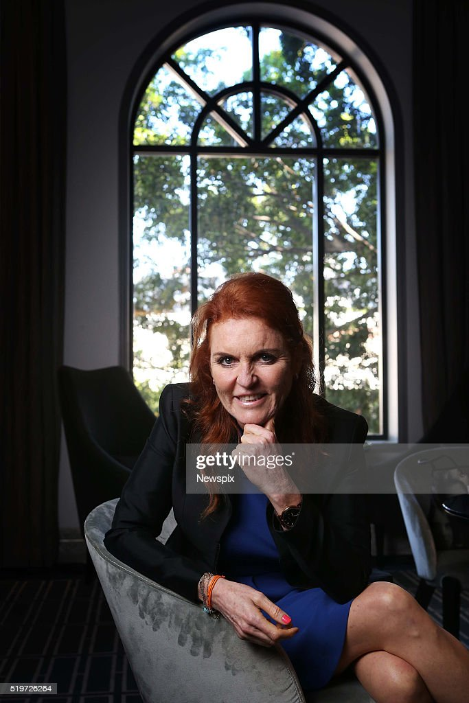 Sarah Ferguson Sydney Photo Shoot