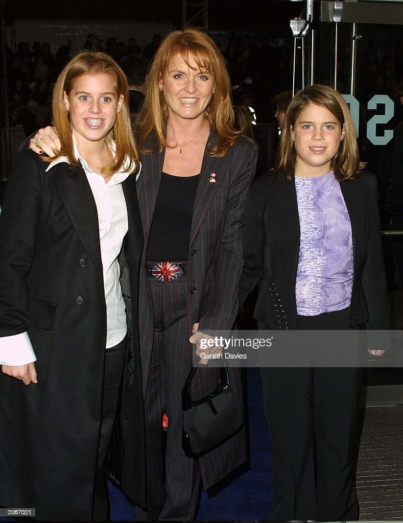 The Duchess Of York Attends The World Premiere Of 'Harry Potter And The Philosopher's Stone' : News Photo