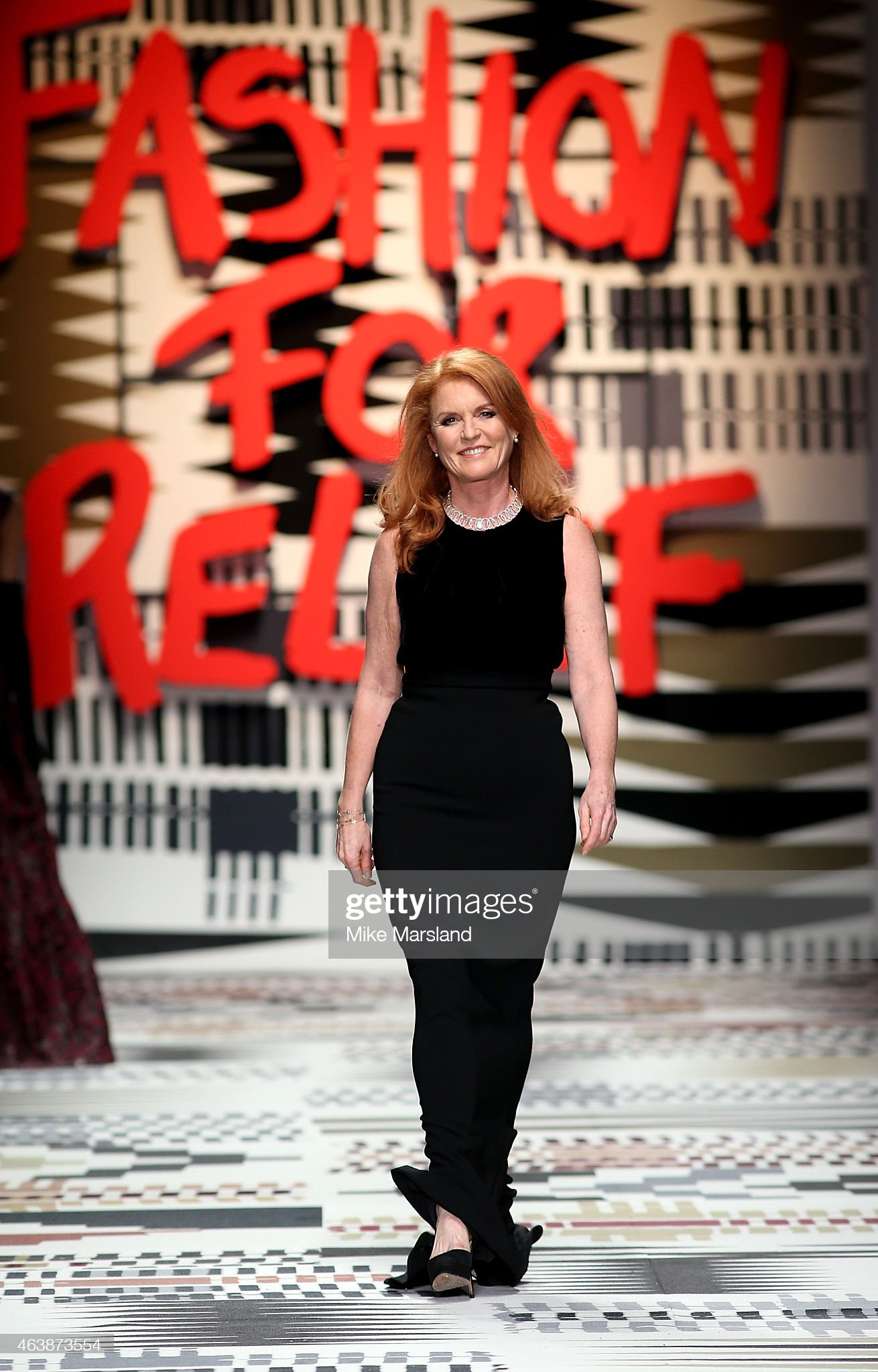 Fashion For Relief - Runway - LFW FW15 : News Photo