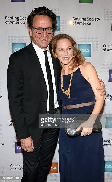 Sarah Finn arrives to The Casting Society of America's 30th Annual Artios Awards Banquet at the Beverly Hilton Hotel Thursday evening