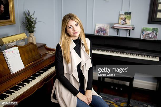 TORONTO ON JANUARY Sarah Fisher Story is about a film coming out called Kiss and Cry it's based on the true story of Carley Allison a Toronto girl...