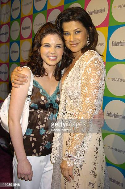 Sarah Floret and Daphne Zuniga during The Entertainment Weekly Must List Party Arrivals at Deep in New York City New York United States