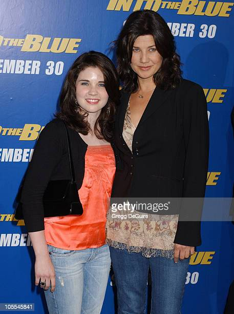 Sarah Foret and Daphne Zuniga during MGM Pictures and Columbia Pictures Into the Blue Premiere Arrivals at Mann Village Theatre in Westwood...