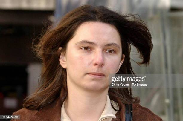 Sarah Forsyth arrives at her employment tribunal hearing to appeal against her alleged unfair sacking from prestigious Eton College