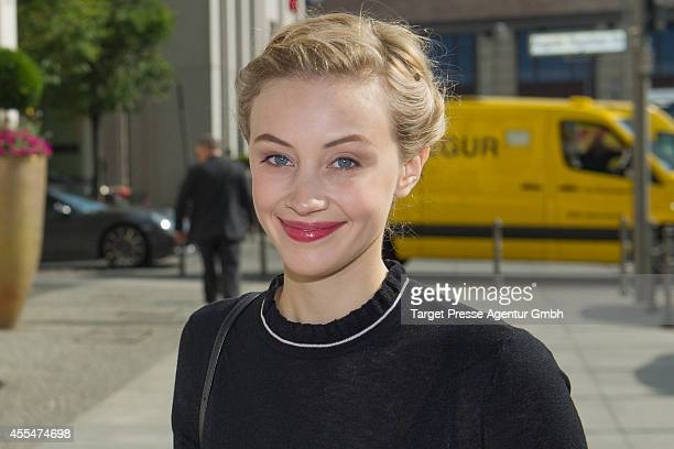 Sarah Gadon attends the 'Dracula untold' photocall at Ritz Carlton on September 15 2014 in Berlin Germany