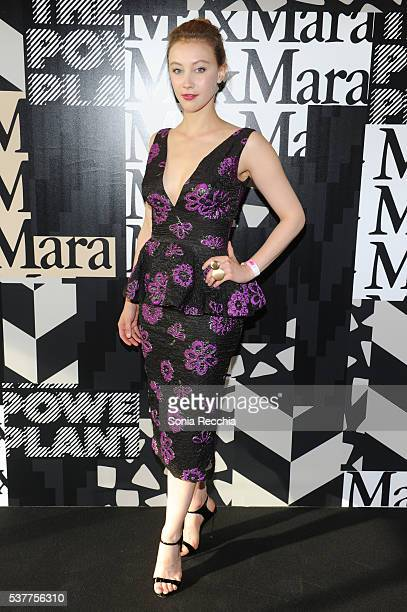 Sarah Gadon attends the Max Mara presents The Power Plant's Power Ball XVIII Pleasure Principle at Power Plant Gallery on June 2 2016 in Toronto...
