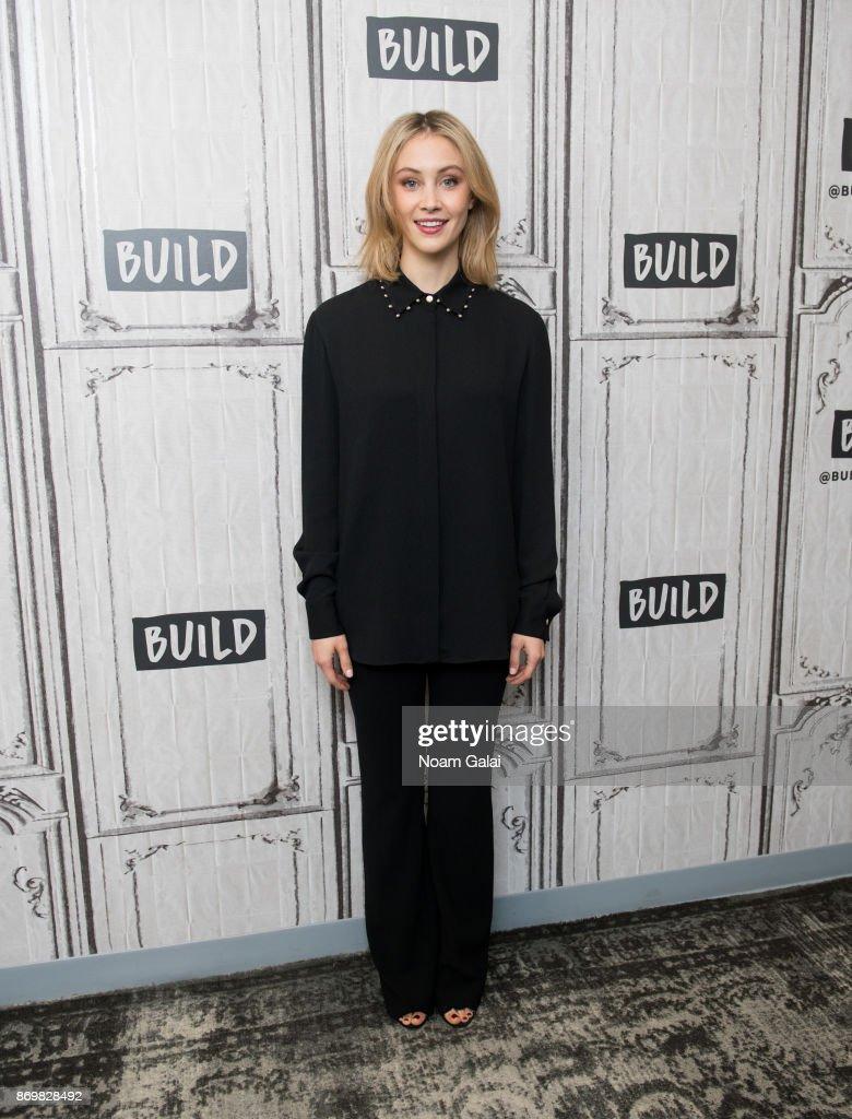 "Build Presents Sarah Gadon Discussing ""Alias Grace"""
