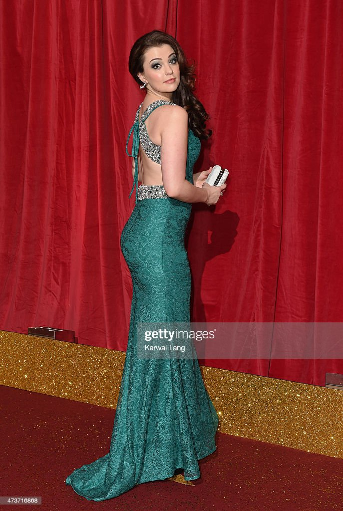 Sarah George attends the British Soap Awards at Manchester Palace Theatre on May 16, 2015 in Manchester, England.