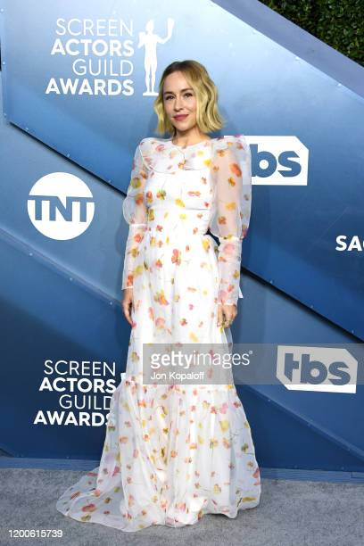 Sarah Goldberg attends the 26th Annual Screen ActorsGuild Awards at The Shrine Auditorium on January 19, 2020 in Los Angeles, California.