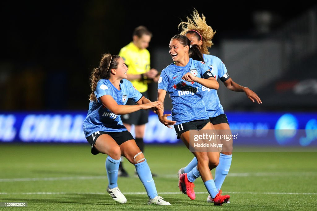 2020 NWSL Challenge Cup - Quarterfinal - OL Reign FC v Chicago Red Stars : News Photo