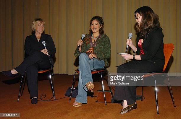 Sarah Green producer Q'orianka Kilcher and Sarah Kuhn