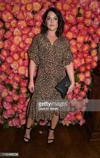Sarah Greene attends a private dinner hosted by Michael Kors to celebrate the new Collection Bond St Flagship Townhouse opening on May 9 2019 in...