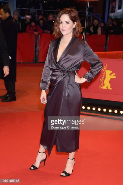 Sarah Greene attends the 'Black 47' premiere during the 68th Berlinale International Film Festival Berlin at Berlinale Palast on February 16 2018 in...