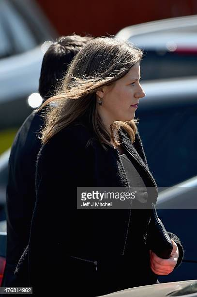 Sarah Gurling attends the funeral service of former Liberal Democrat leader Charles Kennedy at St John's Roman Catholic Church on June 12 2015 in...