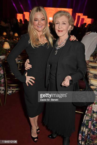Sarah Hadland and Patricia Hodge attend the 65th Evening Standard Theatre Awards in association with Michael Kors at the London Coliseum on November...